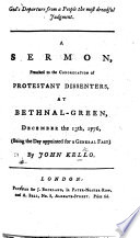 God s Departure from a people the most dreadful judgement  A sermon  on Hos  ix  12   etc Book