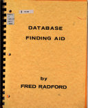 Database Finding Aid