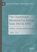 The Charismatic Movement in Taiwan from 1945 to 1995 Pdf/ePub eBook