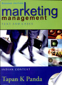 Marketing Management Text And Cases Indian Context Book PDF