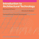 Introduction to Architectural Technology Book