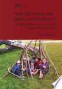 Our life is love  and peace  and tenderness  Book