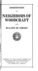 Constitution of Neighbors of Woodcraft and By-laws of Circles