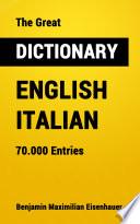 The Great Dictionary English   Italian
