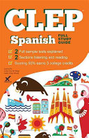 link to CLEP Spanish in the TCC library catalog