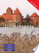 Colloquial Lithuanian (eBook And MP3 Pack)