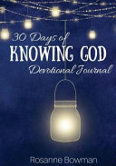 30 Days of Knowing God