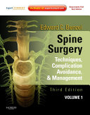 Spine Surgery 2-Vol Set E-Book