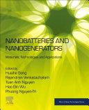 Nanobatteries and Nanogenerators Book