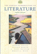 The Norton Introduction to Literature Book
