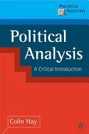 Political Analysis