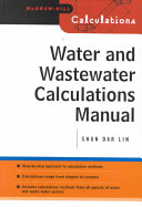 Cover of Water and Wastewater Calculations Manual