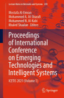 Proceedings of International Conference on Emerging Technologies and Intelligent Systems