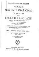 New International Dictionary