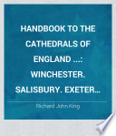 Handbook to the Cathedrals of England     Book