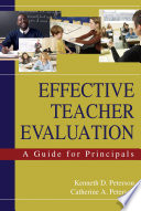 Effective Teacher Evaluation Book