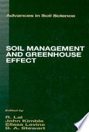 Soil Management and Greenhouse Effect Book