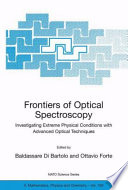 Frontiers of Optical Spectroscopy Book
