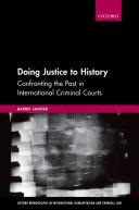 Doing Justice to History Pdf/ePub eBook