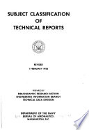 Subject Classification of Technical Reports