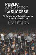 Public Speaking for Success Book