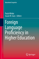 Foreign Language Proficiency in Higher Education