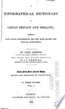 A Topographical Dictionary of Great Britain and Ireland