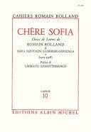 Chère Sofia - tome 1