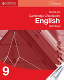 Books - Cambridge Checkpoint English Workbook Book 9 | ISBN 9781107657304