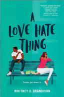 A Love Hate Thing [Pdf/ePub] eBook