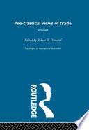 The Origins of International Economics