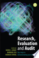 Research  Evaluation and Audit Book