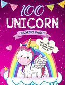 100 Unicorn Coloring Pages