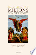 Milton s Complex Words
