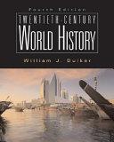 Twentieth century World History