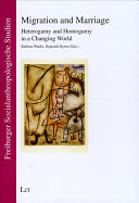 Migration and Marriage Pdf/ePub eBook