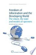 Freedom of Information and the Developing World
