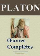 Pdf Platon : Oeuvres complètes — Les 43 titres (Annotés) Telecharger