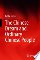 The Chinese Dream and Ordinary Chinese People Book