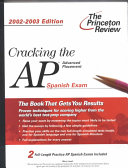Cracking the AP Spanish  2002 2003 Edition Book