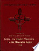 Guidebook of the Tyrone-Big Hatchet Mountains-Florida Mountains Region