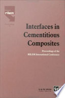 Interfaces In Cementitious Composites Book PDF