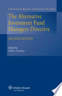 The Alternative Investment Fund Managers Directive