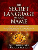 The Secret Language of Your Name Book
