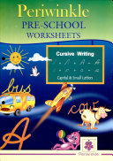 Periwinkle Pre School Worksheets Cursive Writing Capital   Small Letters