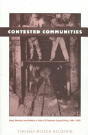 Contested Communities