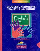 Students Acquiring English Handbook