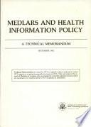 Medlars And Health Information Policy