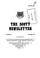 The Scott Newsletter Book PDF