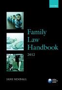 Family Law Handbook 2012